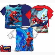 TRIČKO SPIDERMAN BLUE-WHITE